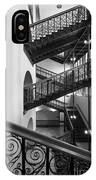 Courthouse Staircases IPhone Case