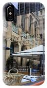 Courtyard Cafe IPhone X Case