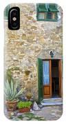 Courtyard Of Tuscany IPhone Case
