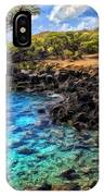 Cove At Mahukona 2 IPhone Case