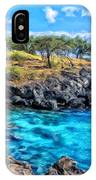Cove At Mahukona IPhone Case