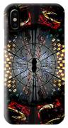 Coventry Cathedral Windows Montage IPhone Case