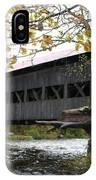 Covered Bridge Albany IPhone Case