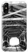 Covered Bridge Architecture IPhone Case