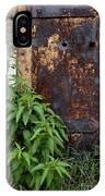 Covered In Rust IPhone Case