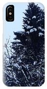 Covered Snow Trees IPhone Case