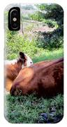 Cow 6 IPhone Case