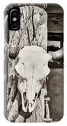 Cow Skull IPhone Case