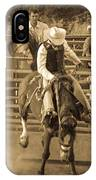 Cowboy 3 IPhone Case