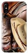 Cowboy Gear IPhone Case