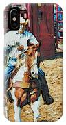 Cowboy On Paint IPhone Case