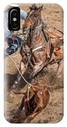 Cowboy Ropes Calf  IPhone Case