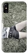 Cowgirl In Clover IPhone Case