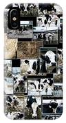 Cows Collage IPhone Case