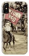 Cowtown Grand Entry IPhone Case