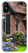 Cozy Corner. Giethoorn. Netherlands IPhone Case