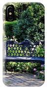 Cozy Southern Garden Bench IPhone Case