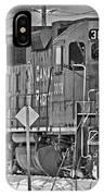 Cp Rail Train Bwtr9099-12 IPhone Case