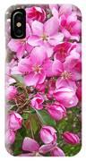 Crab Apple Blossoms IPhone Case