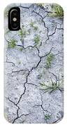Cracked Earth Background IPhone Case