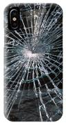 Cracked Glass Of Car Windshield IPhone Case