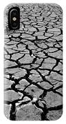 Cracks For Miles Black And White IPhone Case