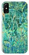 Cracks In Blue IPhone Case