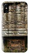 Craigsmillar Castle Fireplace IPhone Case