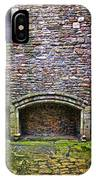 Craigsmillar Castle Kitchen Fireplace IPhone Case