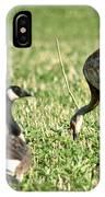 Crane And Friends IPhone Case