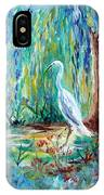 Crane And Willow IPhone Case