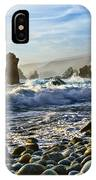 Crash - Waves From Soberanes Point In Garrapata State Park In California. IPhone Case