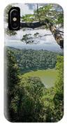 craterlake in Montagne d'Ambre National Park Madagascar IPhone Case