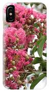 Crazy For Crepe Myrtles IPhone Case