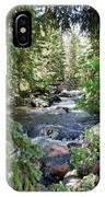 Crazy Woman Creek IPhone Case