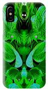 Creatures In The Green Fauna IPhone Case