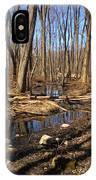 Creek At Woodland Park IPhone Case