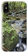 Creek In Mountain Rainforest Costa Rica IPhone Case