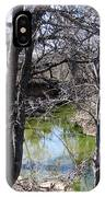 Creek In North Texas IPhone Case