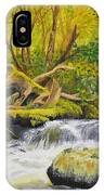 Creek In The Forest IPhone Case