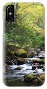 Creek In The Woods IPhone Case