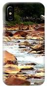 Creek No Paddle IPhone Case