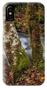 Creek With Trees IPhone Case