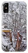 Creekside In The Snow IPhone Case
