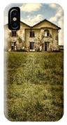 Creepy Derelict House IPhone Case