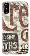 Cremo Cigar IPhone Case