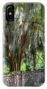 Crepe Myrtles Of Middleton Place IPhone Case