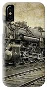 Crescent Limited Locomotive Of 1927 IPhone Case