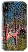 Crim Dell Bridge Spring IPhone Case