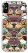 Crimson Field Stone IPhone Case